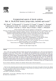 View publication: Computational aspects of kinetic analysis Part A: The ICTAC kinetics project-data, methods and results