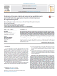 The Prediction of thermal stability of materials by modified kinetic and model selection approaches based on limited amount of experimental point